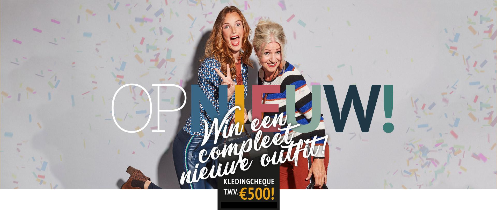 Zwijnenburg - Op nieuw - Win een compleet nieuwe outfit!