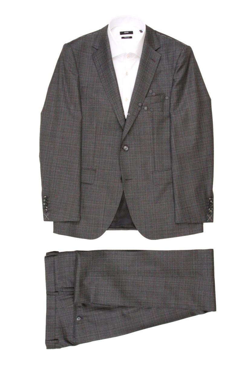 Hugo Boss Kostuum 2-delig 50379683 Grijs
