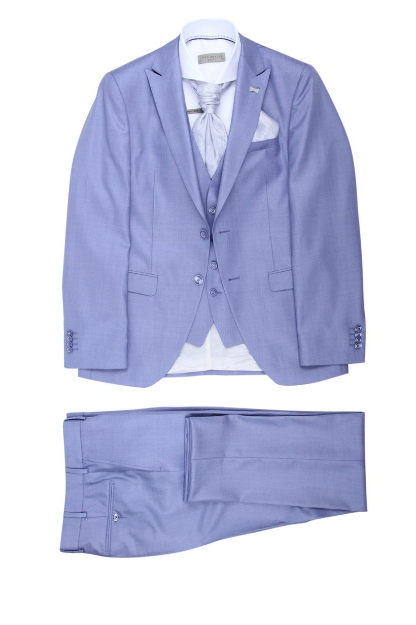 Immediate fashion Kostuum 3-delig centro.001-3 Blauw