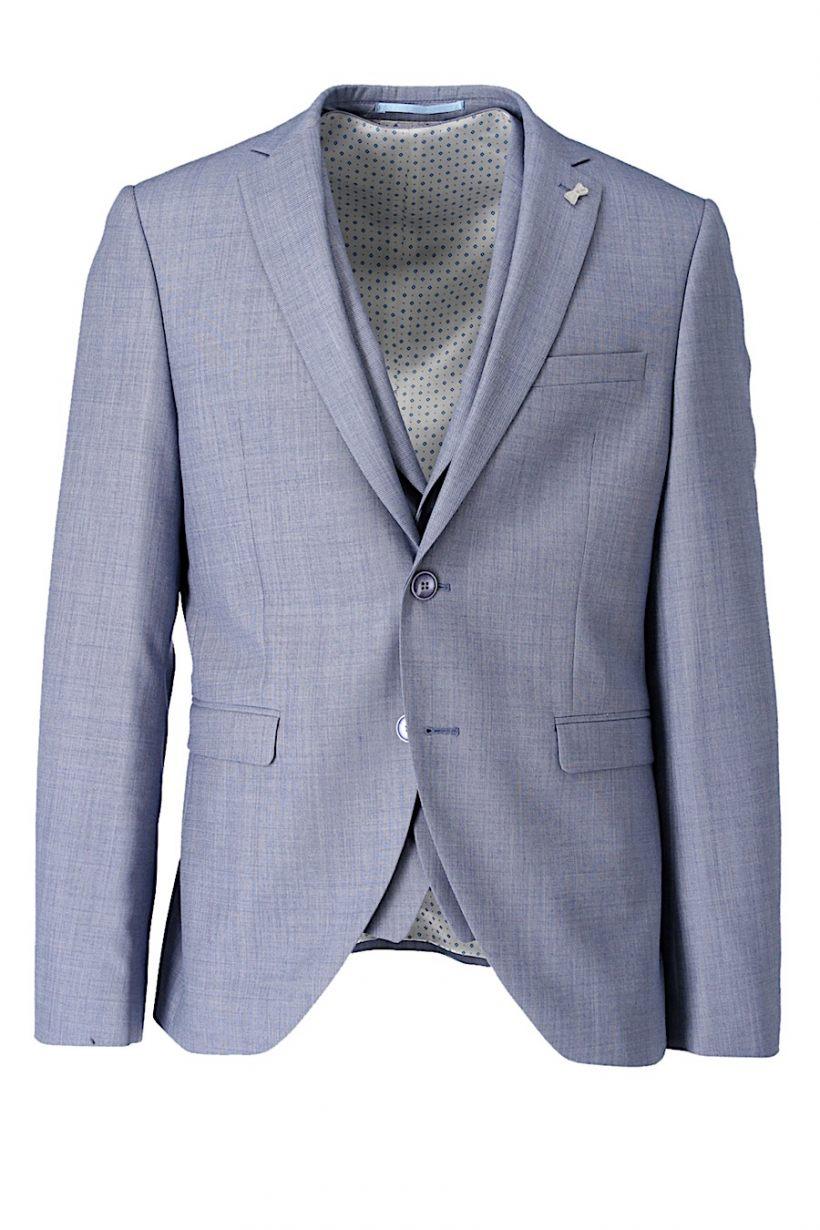 Immediate fashion Kostuum 3-delig 361-19104a-54 Blauw