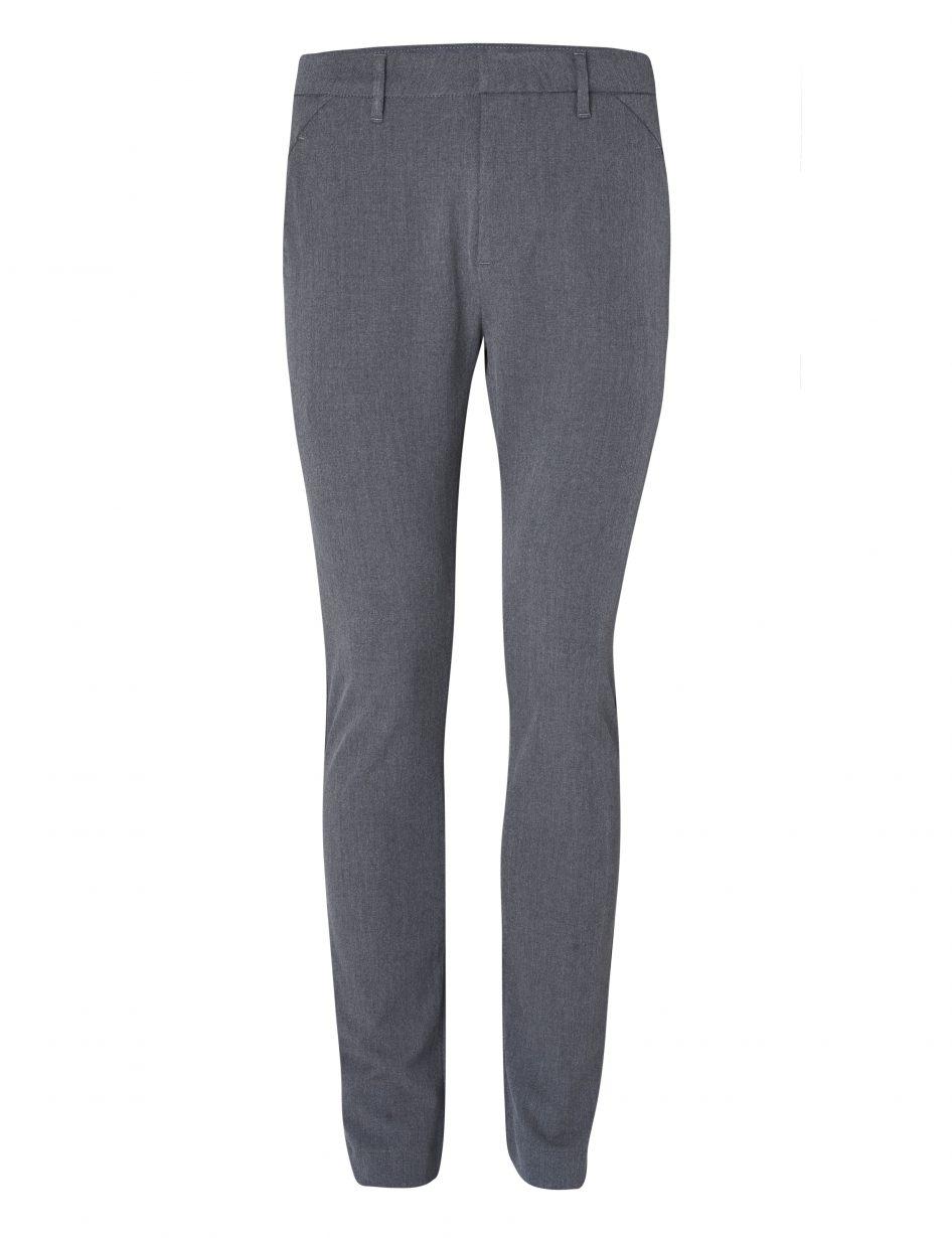 Plain Pantalon 30121 Grijs