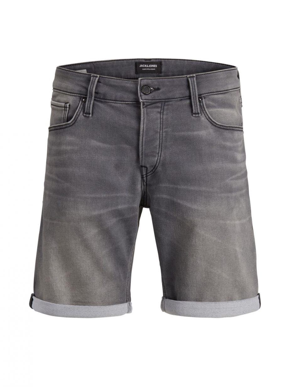 Jack and Jones Short Jeans 12148014 Grijs