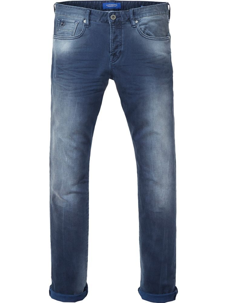 Scotch & Soda Jeans 144831 Blauw