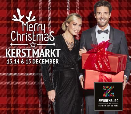 Kerstmarkt bij Zwijnenburg Mode