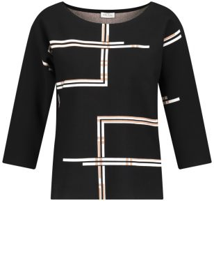 Gerry Weber pullover 3/4 mouw  97619-35703